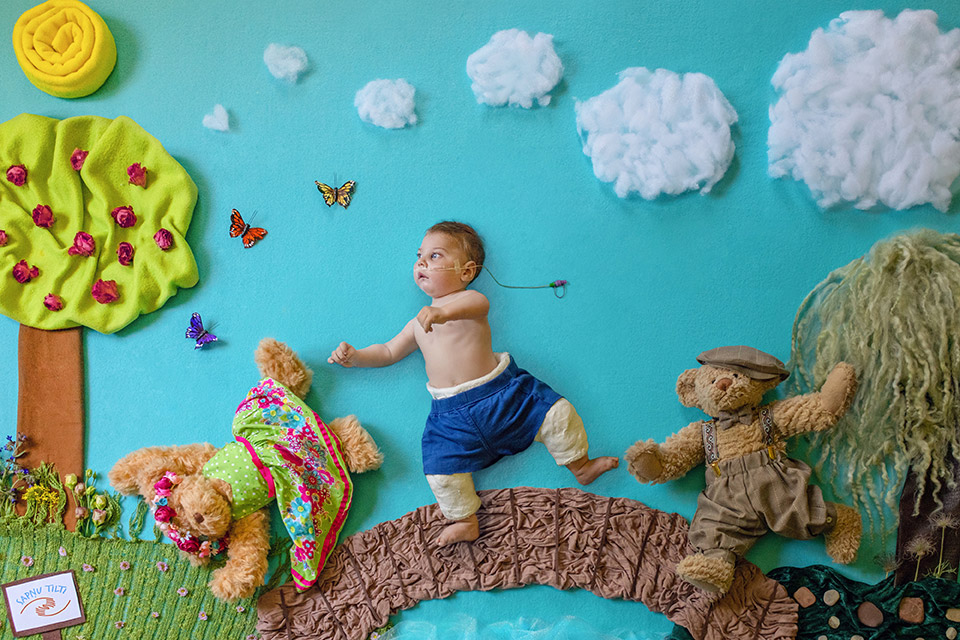 Unique exhibition from Latvia: fantasy images of children with life-limiting conditions